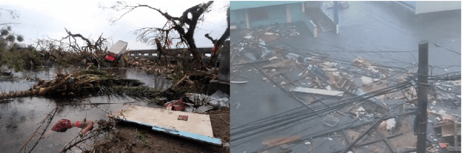 destruction of tacloban Philippines from Typhoon Yolanda