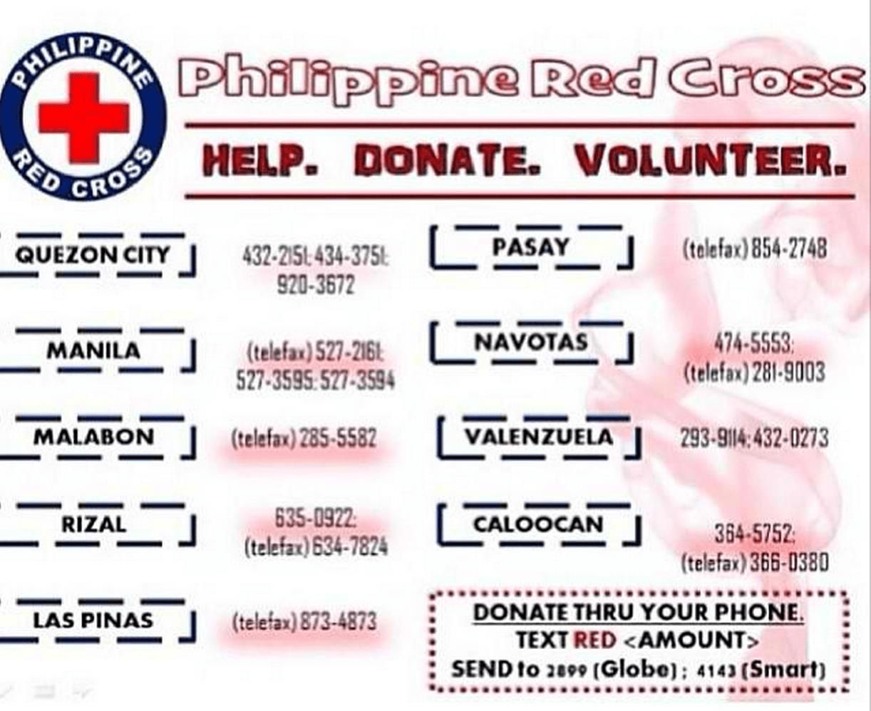 Philippine Red Cross Yolanda