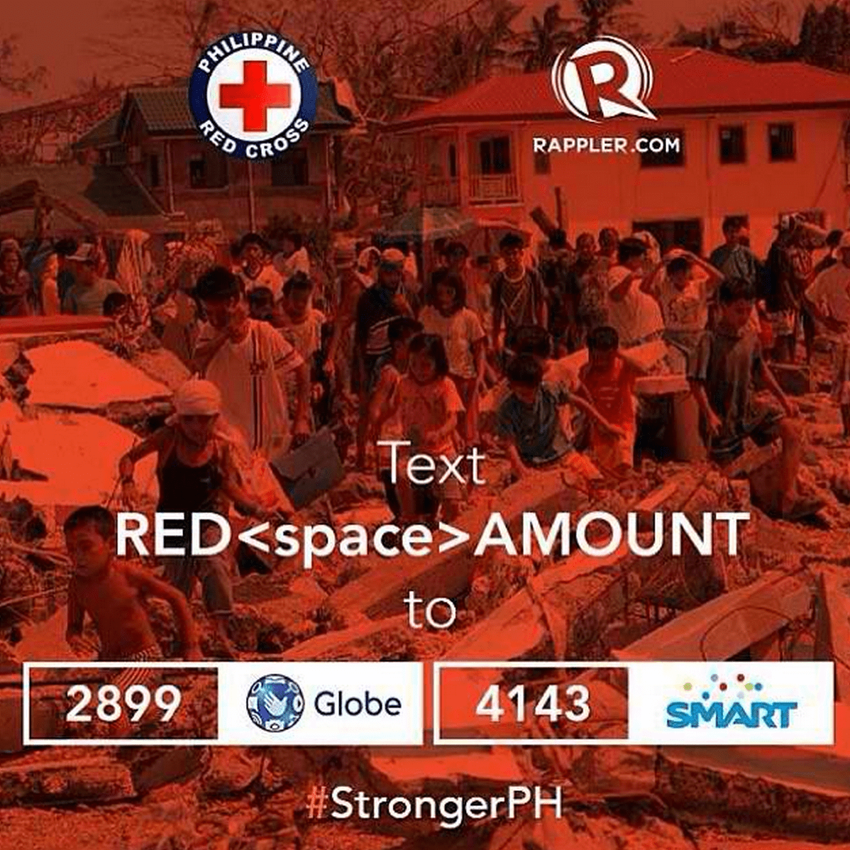Redcross Rappler Yolanda