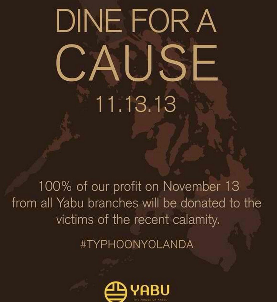 Yolanda Dine for a cause