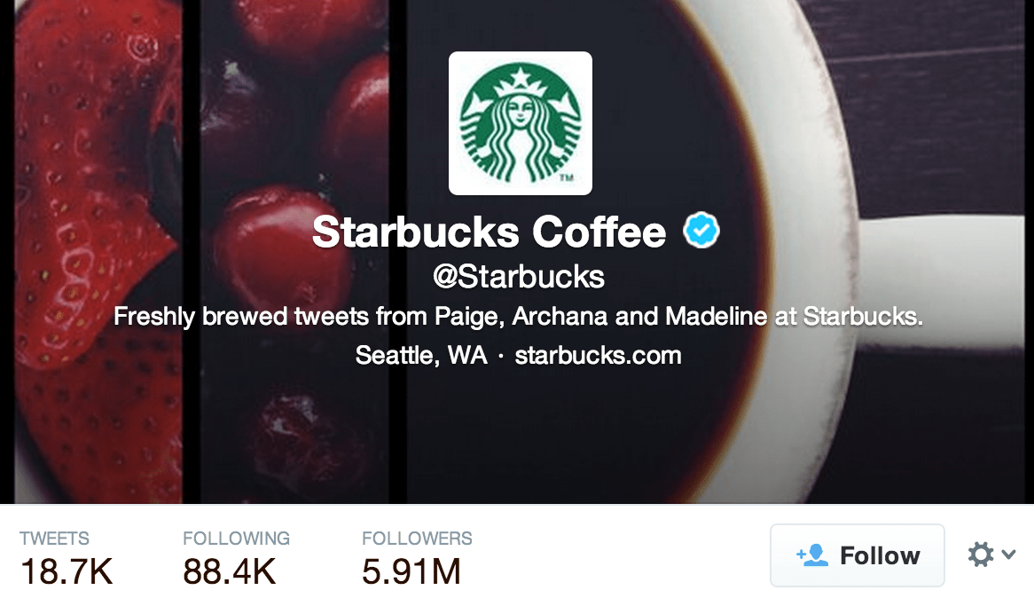Starbucks Twitter Marketing