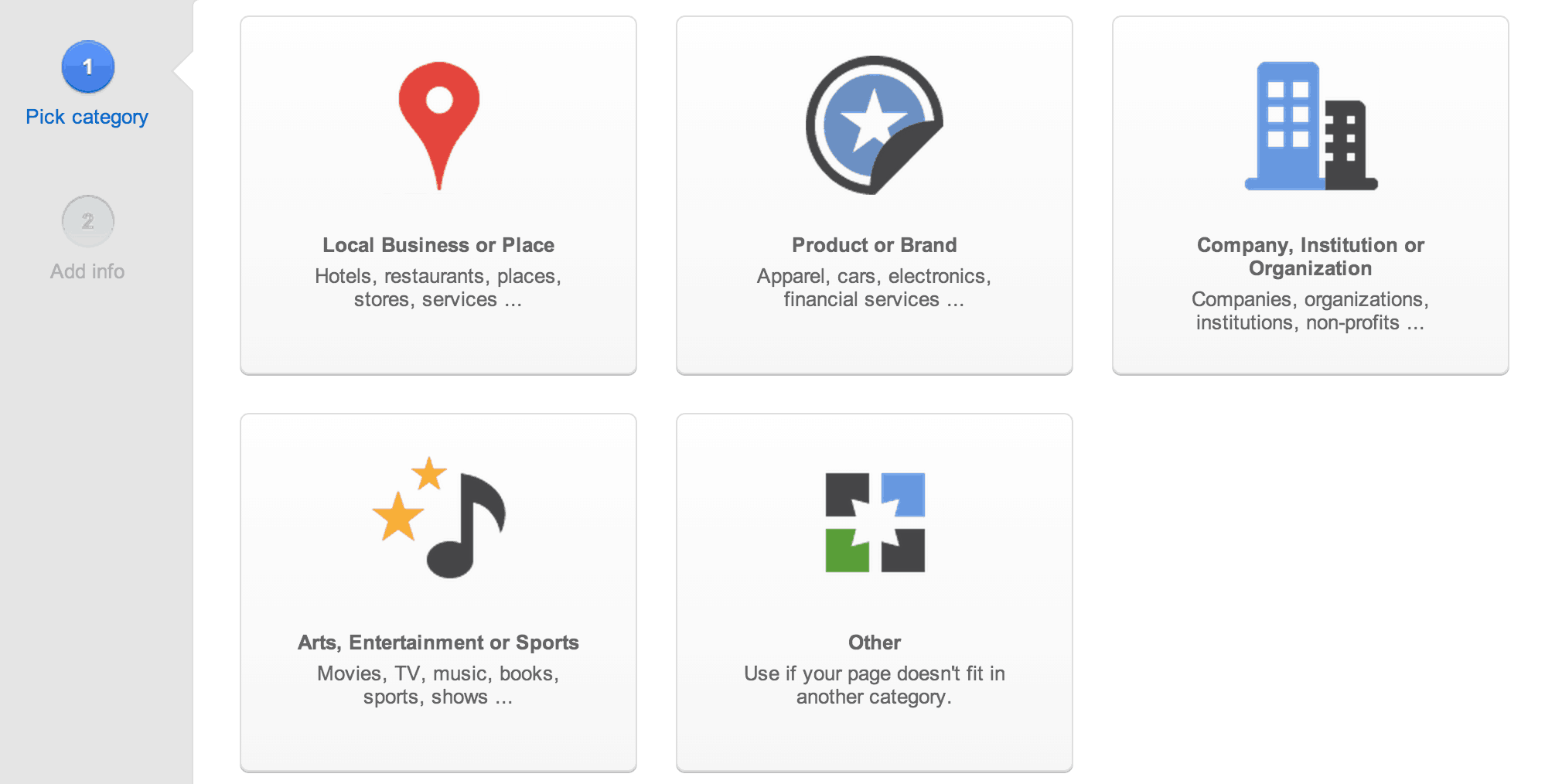 google plus business page local
