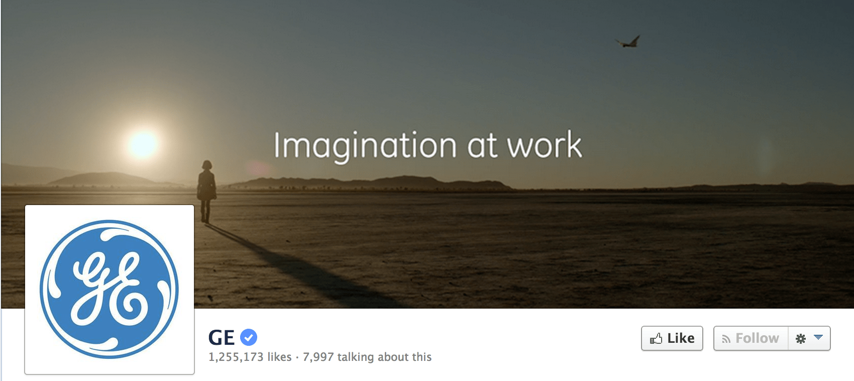 Facebook Business Page with Profile and Cover Photo