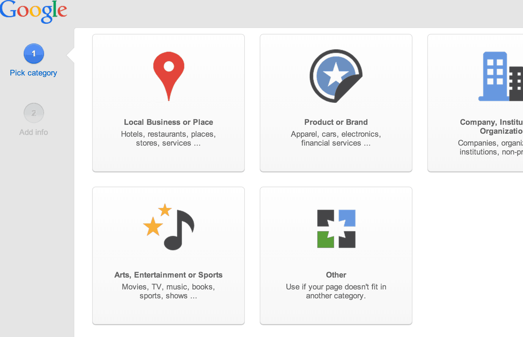 Google+ Local Business Page Creation