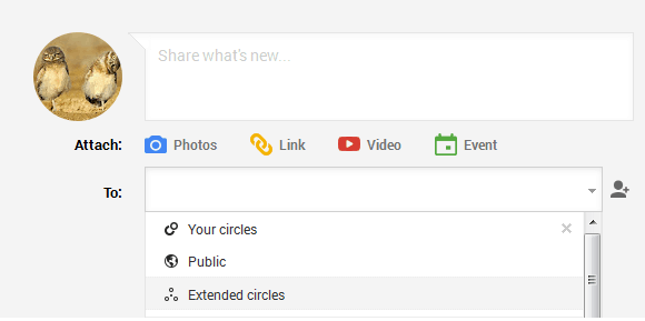 Restrict Access Control Viewers Google+ Circles
