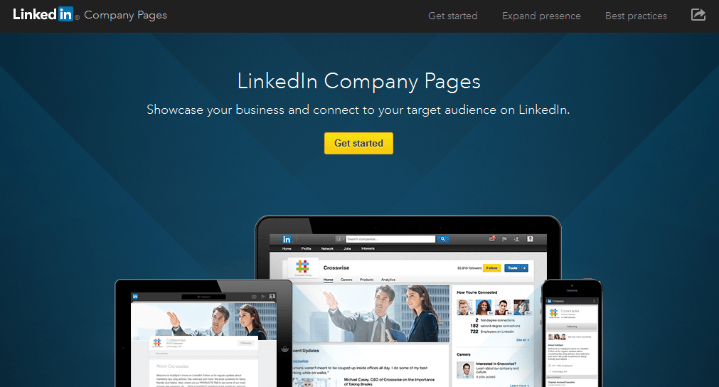LinkedIn Company Page Starting Point
