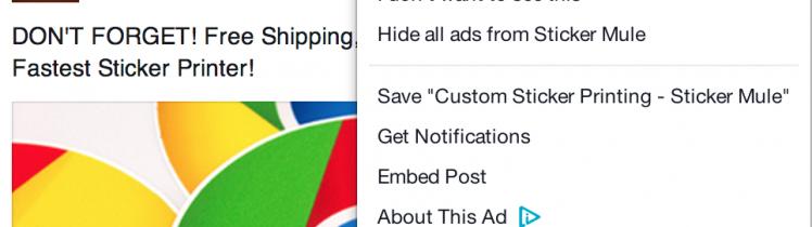Saving on Facebook Save