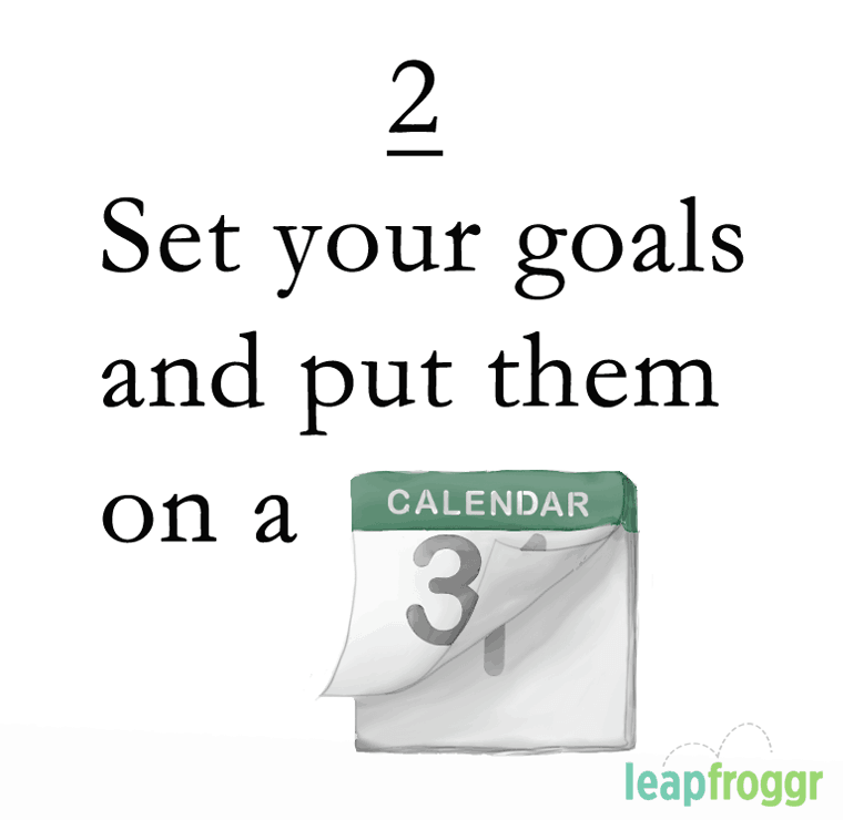Goals SEO Content Marketing Calendar Schedule