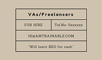 Freelance VA SEO