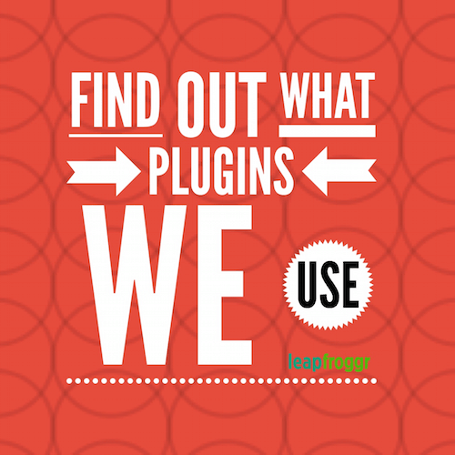 WordPress Plugins on LeapFroggr SEO Blog