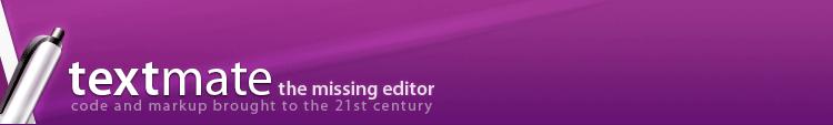 Textmate logo