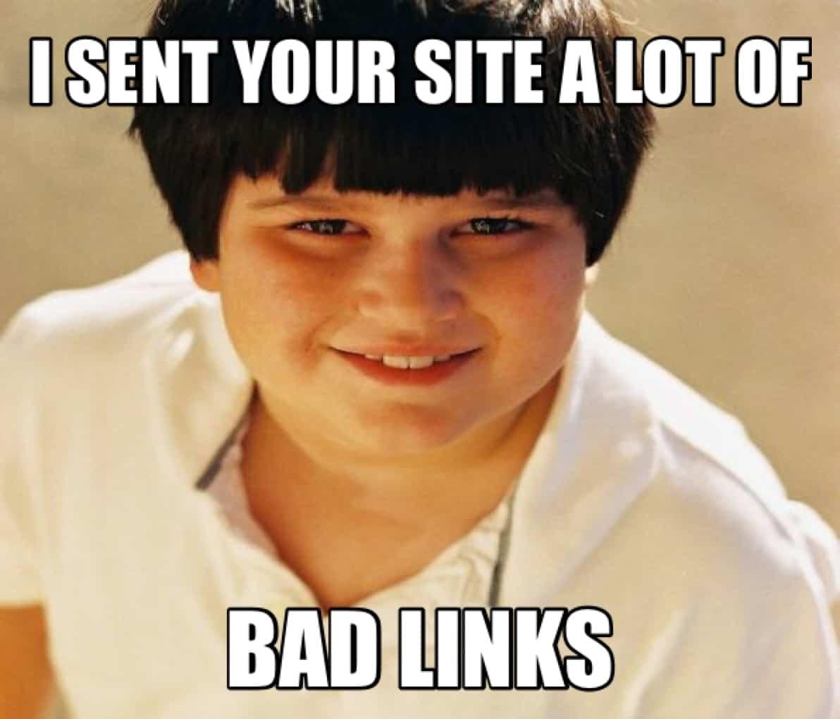 Negative SEO Links