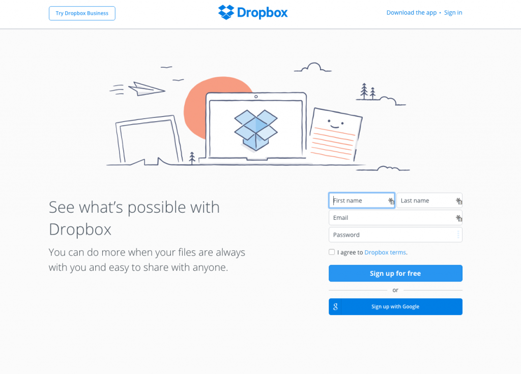 Dropbox Review from LeapFroggr
